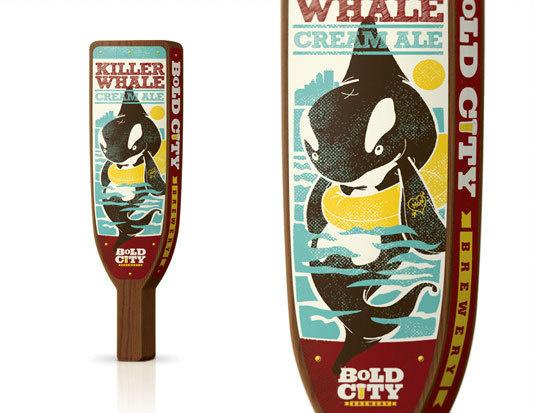 Killer Whale Cream Ale #packaging #beer #label #bottle