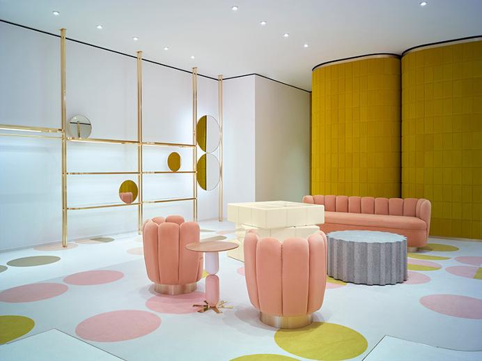 Best Interior Design Red Valentino Flagship images on Designspiration