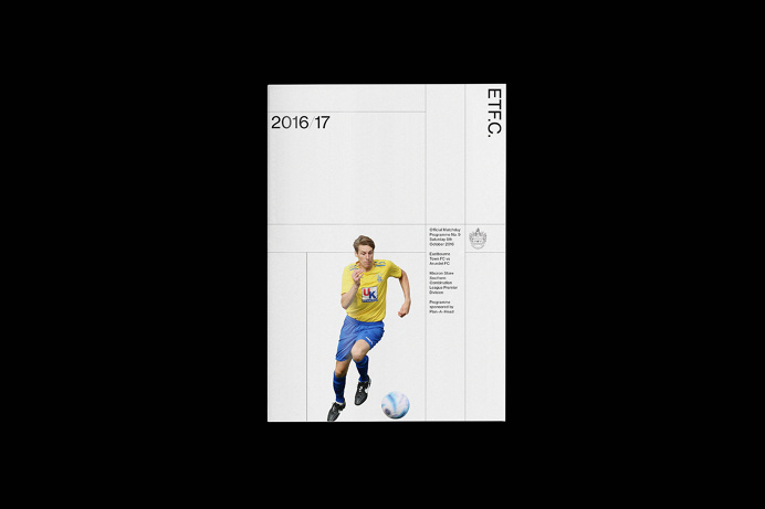 Eastbourne Town FC by Alex Brown — The Brand Identity