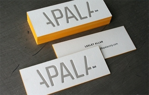 Edge Painting Can Make Your Business Cards Pop Up | Best Business Cards #technique #edge #business #stationary #print #paint #colour #cards
