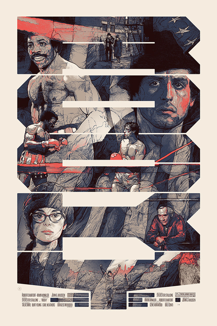 Movie Poster Illustrations by Krzysztof Domaradzki | From up North