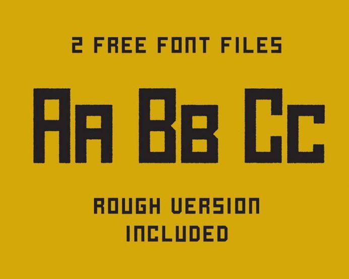 Free Halogen Font