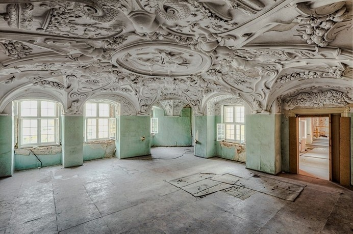 Abandoned #interior #architecture #spaces