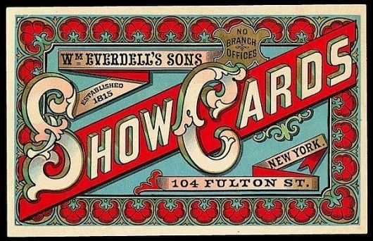 50 Great Examples Of Vintage Typography | Top Design Magazine - Web Design and Digital Content #design #vintage #typography