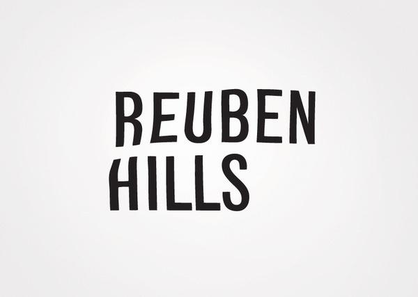 Reuben Hills Luke Brown #logo #identity