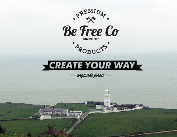 Be Free Clothing - Branding #branding #independent #brand #photography #company #logo #typography