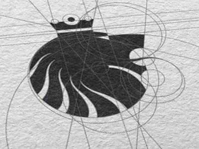 Dribbble - Korol Construction by Nemanja Cubrovic #crown #logo #lion #identity