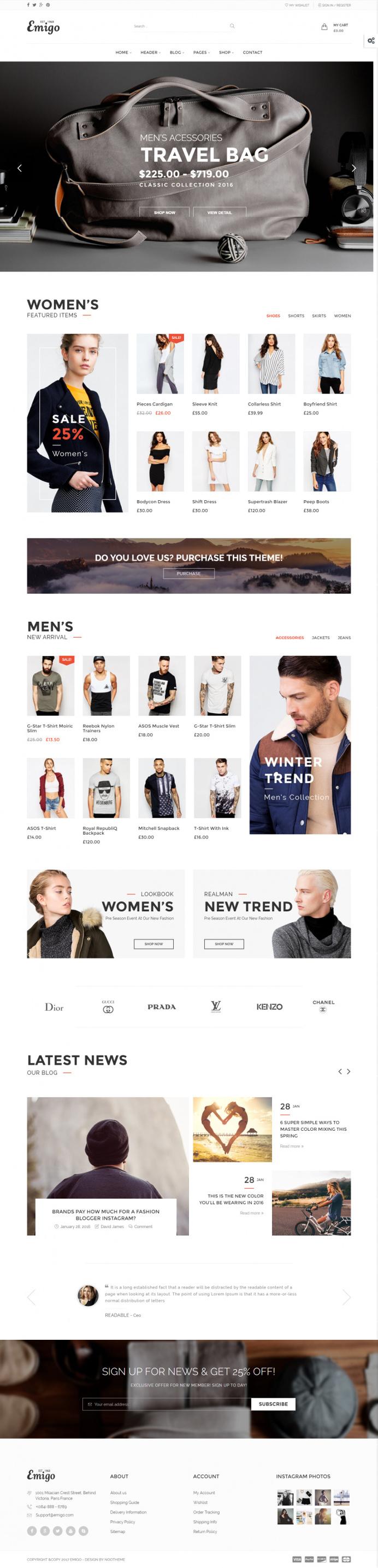 Emigo – Fashion