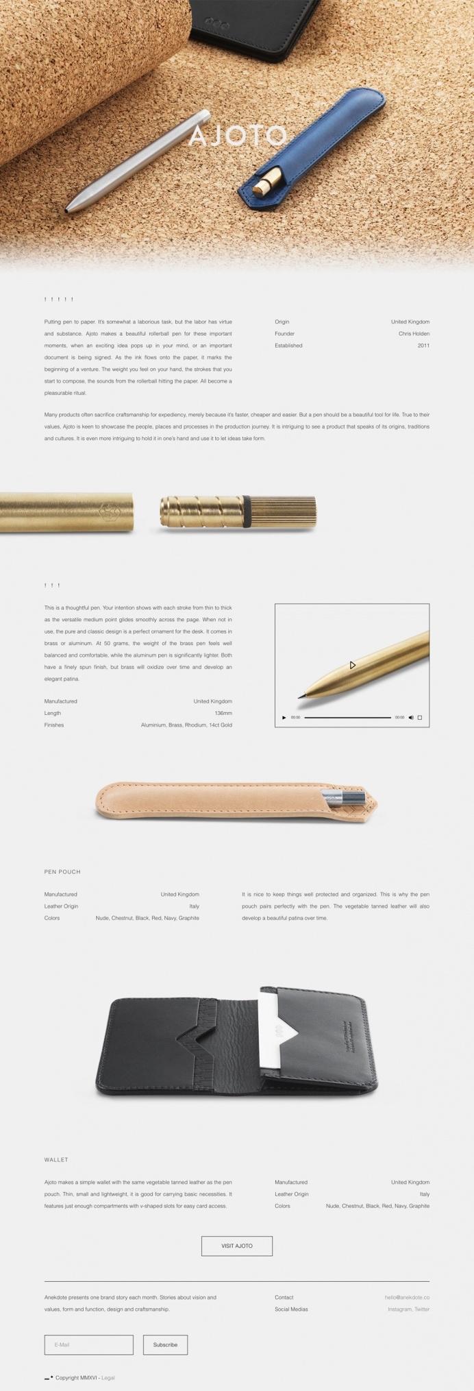 anekdote ajoto webdesign design buy online products, designer new brandnew inspiration inspire designblog www.mindsparklemag.com website sit