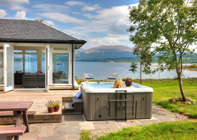 Accommodation at Outlander Locations in Scotland - Seabank House, Oban