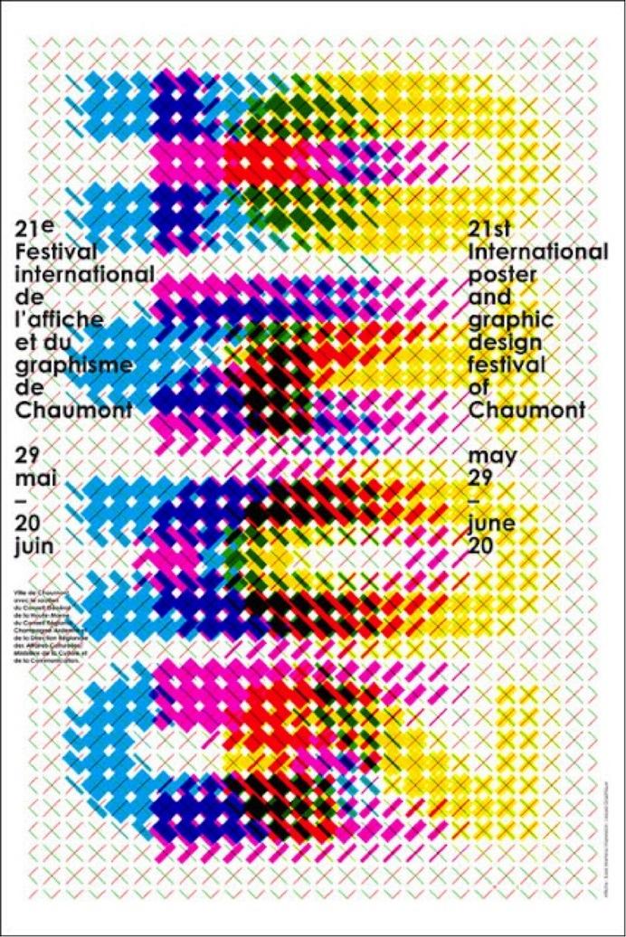 Affiche du festival de Chaumont, 2010