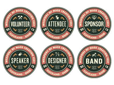 WMC Fest Badge Collection #icon #badges
