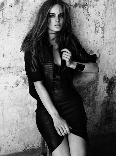 Georgie Wass by Jimmy Backius for Madame Figaro Magazine #fashion #model #photography #girl