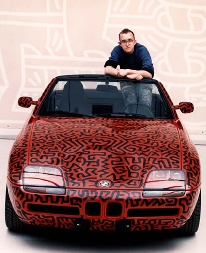 Keith Haring | Art | 1990 | Painting #bmw #keith #harring