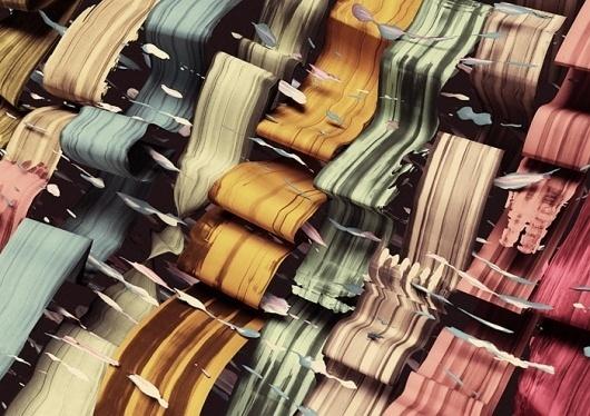 Santtu Mustonen | Typojungle #abstract #mustonen #contemporary #illustration #amsterdam #santtu #waves