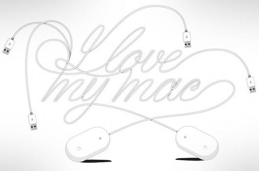David Murawsky Graphic Design & Illustration Portfolio #love #experimental #mac #typography