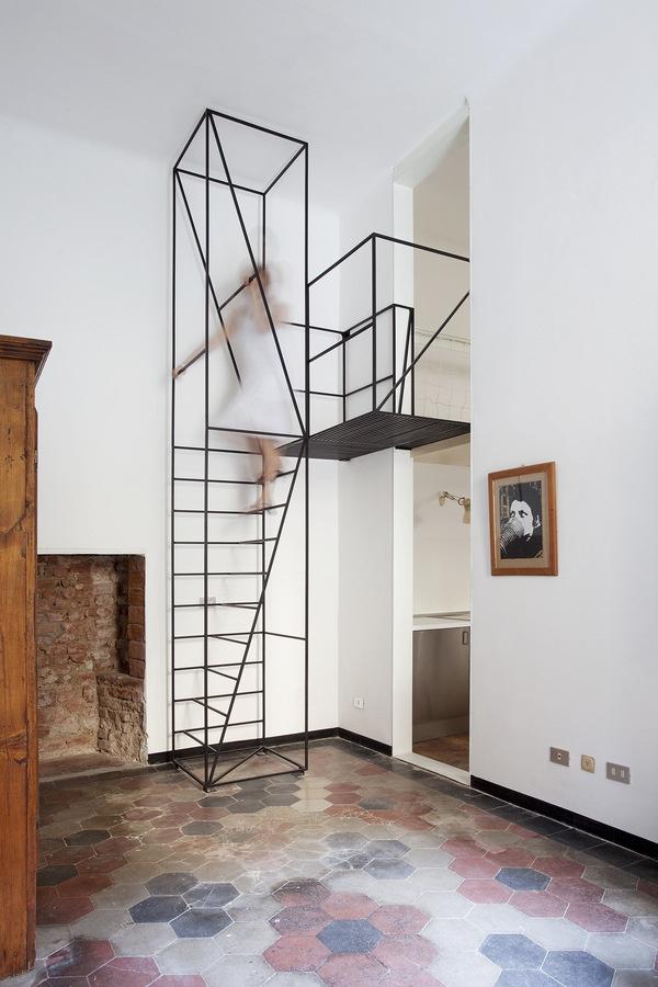001 #steel #floors #interiors #architecture #tile #stairs #ceramic