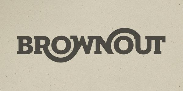 Brownout: Logotype | Erick Montes #identity