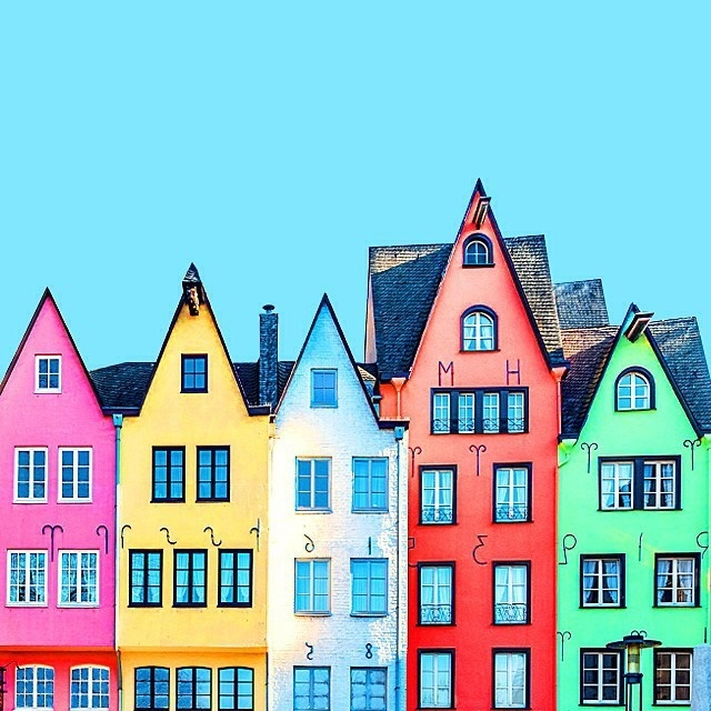 #Colorful #Architecture Photographs by Ramin Nasibov