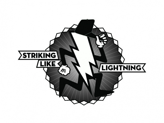 Striking like lightning : ROCKWELL CREATIVE PROJECTS #creative #vector #rockwell #design #graphic #lightning #la #scott