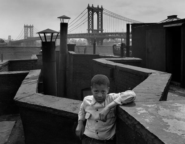 Walter Rosenblum #inspiration #white #black #photography #and