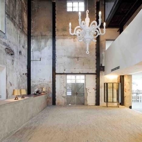 Dezeen » Blog Archive » The Waterhouse at South Bund by NHDRO #interior #design #waterhouse #architecture #hotel