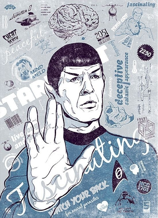 Graphic Design | Pop Culture Illustrations by Dave Merrell #print #design #screen #illustration #poster #art
