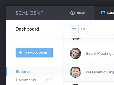 Scaligent_dashboard #web