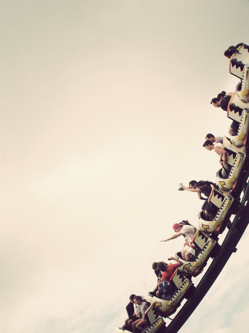 There is still life to be had #rollercoaster