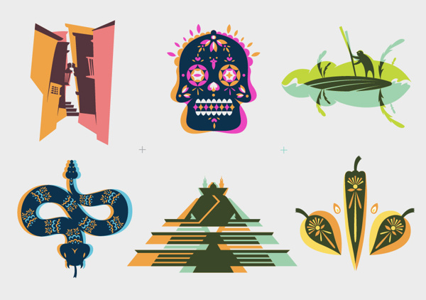 Herencia Mexicana mexico #mexico #design #illustration #herencia #art #mexicana