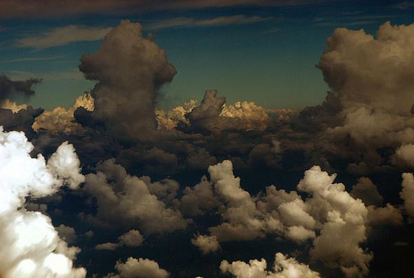by razorbern #clouds #altitude #sky