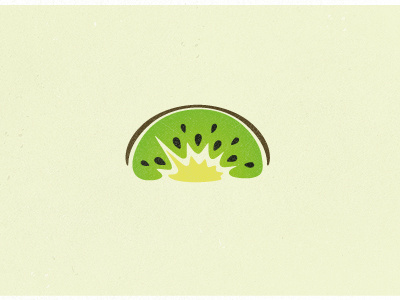 DOPP Kiwi #illustration #logos #fruit