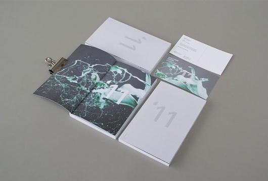 Alvin Kwan #2011 #branding #school #book #publication #simple #exhibition #catalogue #logo