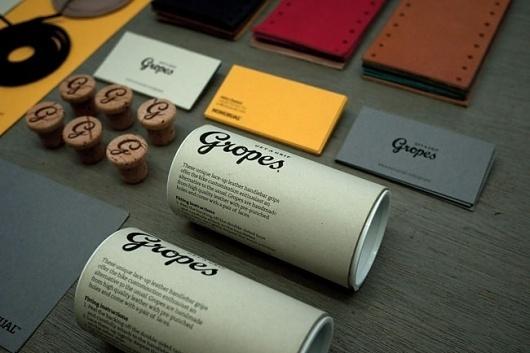 Gropes | Identity Designed #identity #stationery