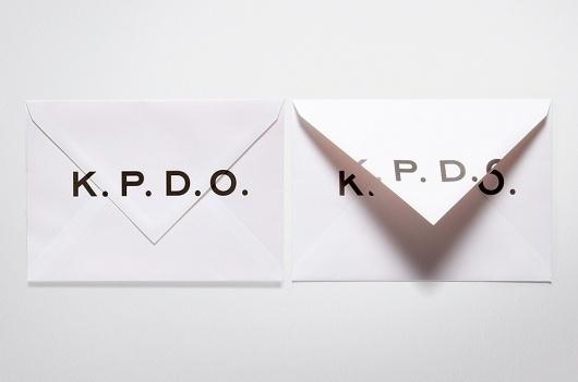Work by Medium - Fabio Ongarato Design | K.P.D.O. #envelopes #type #fabioongaratodesign