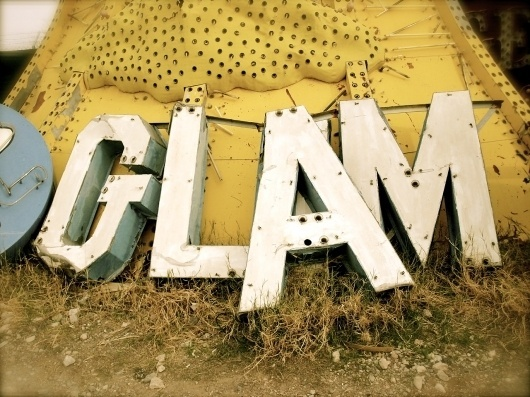 All sizes | GLAM | Flickr - Photo Sharing! #sattler #junk #sign #photograph #signage #glam #pam