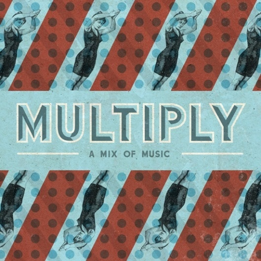 Multiply By Riley Cran - Designers.MX #music #design #graphic #typography