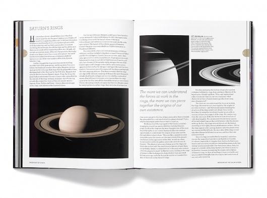 Wonders of the Solar System « Studio8 Design #publication #grid #photography #minimal #typography