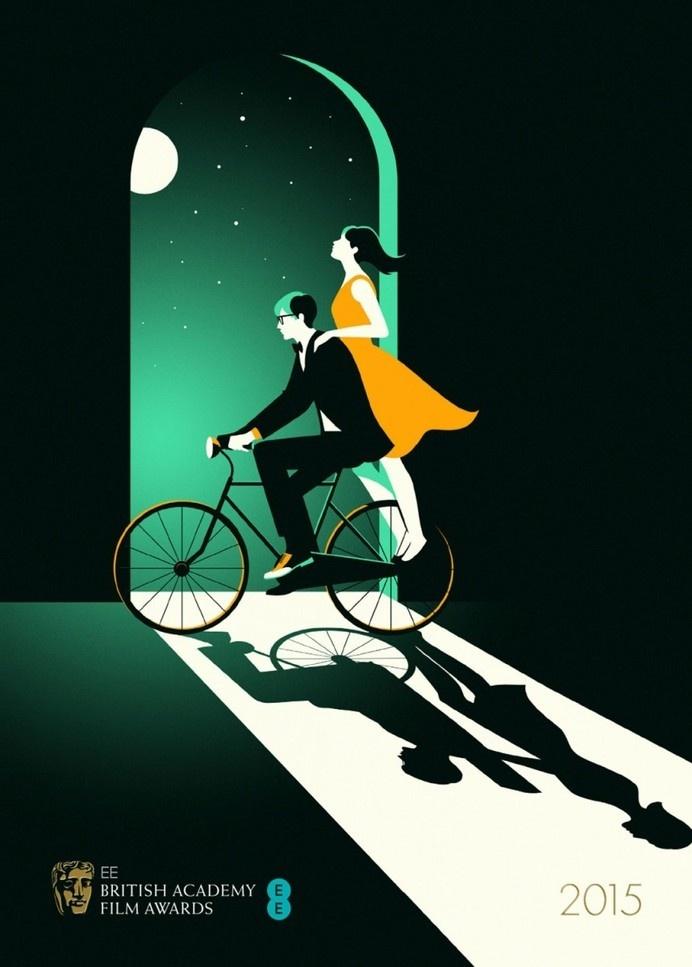 Malika Favre - Handsome Frank Illustration Agency #malika favre #theoryofeverything #bafta #poster