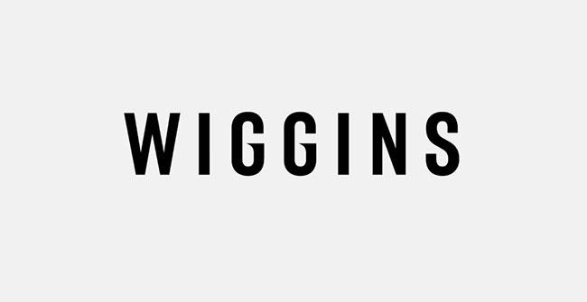 Wiggins word mark by Dalton Maag #logo