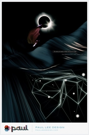 Paul Lee Design #print #design #lee #illustration #poster #paul