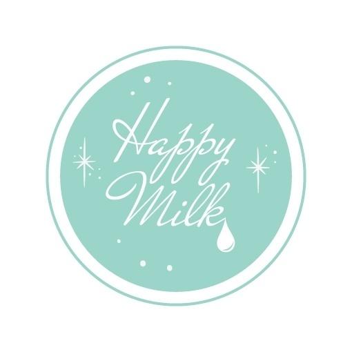 Happy Milk (logo et blog) : Audrey Evrard AKA Mocosa #milk #happy