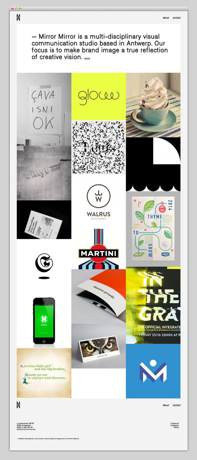 Websites We Love — Showcasing The Best in Web Design #agency #antwerp #portfolio #design #best #website #ui #minimal #webdesign #web #typography
