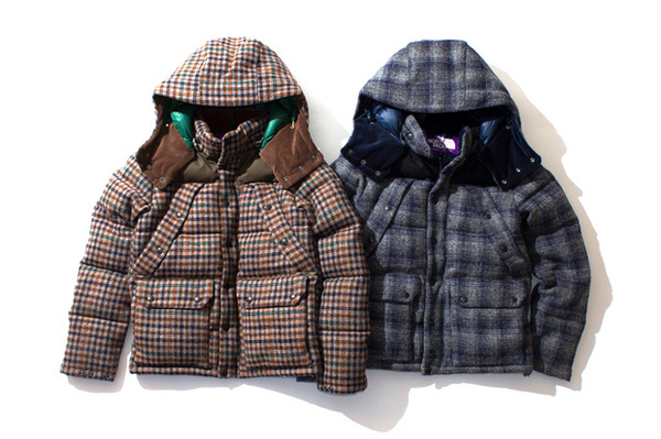 THE NORTH FACE PURPLE LABEL 2012 Fall/Winter Harris Tweed Collection | Hypebeast #mens #north #jacket #label #the #purple #fashion #face