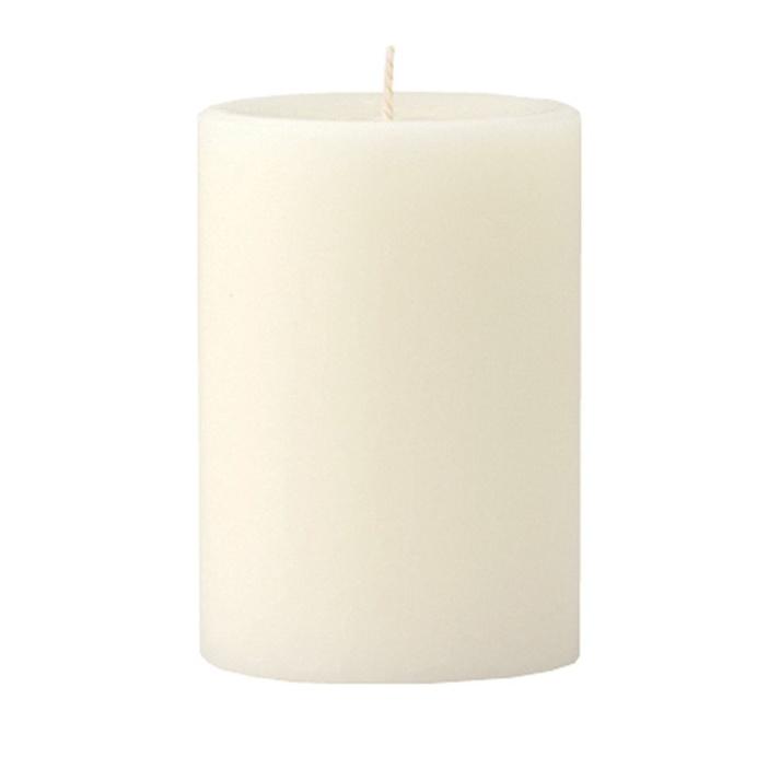 Mini Pillar Vanilla & Brown Sugar Scented Candle