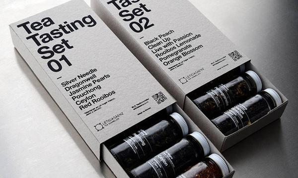 tea packaging template