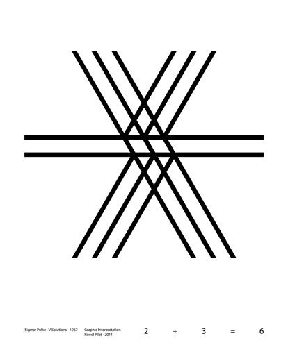 GRAPHIC INTERPRETATION – SIGMAR POLKE – SOLUTIONS V   jaktokto - PAWEL PILAT - graphic designer - photographer - portfolio - blog #inspiration #interpretation #input #polke #graphic #jaktokto #grid #idea #sigmar