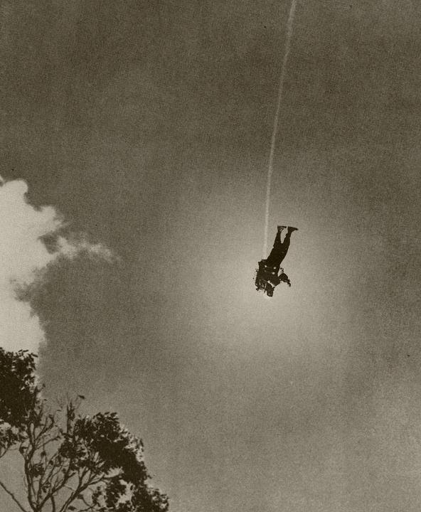 © Justin Plakas #astronaut #photo #floating #sky