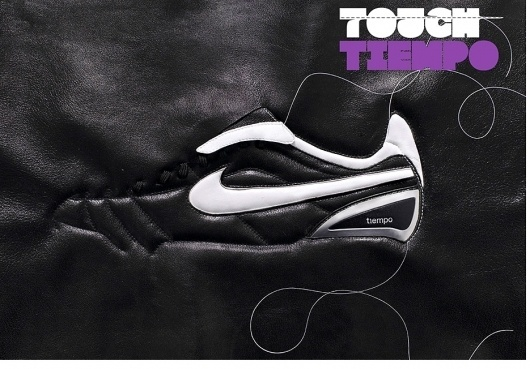 Non-Format - Nike Football #shoe #soccer #nike #stich #leather