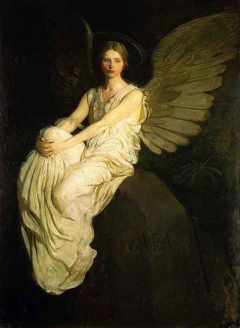 Abott Thayer, Stevenson Memorial #painting #thayer